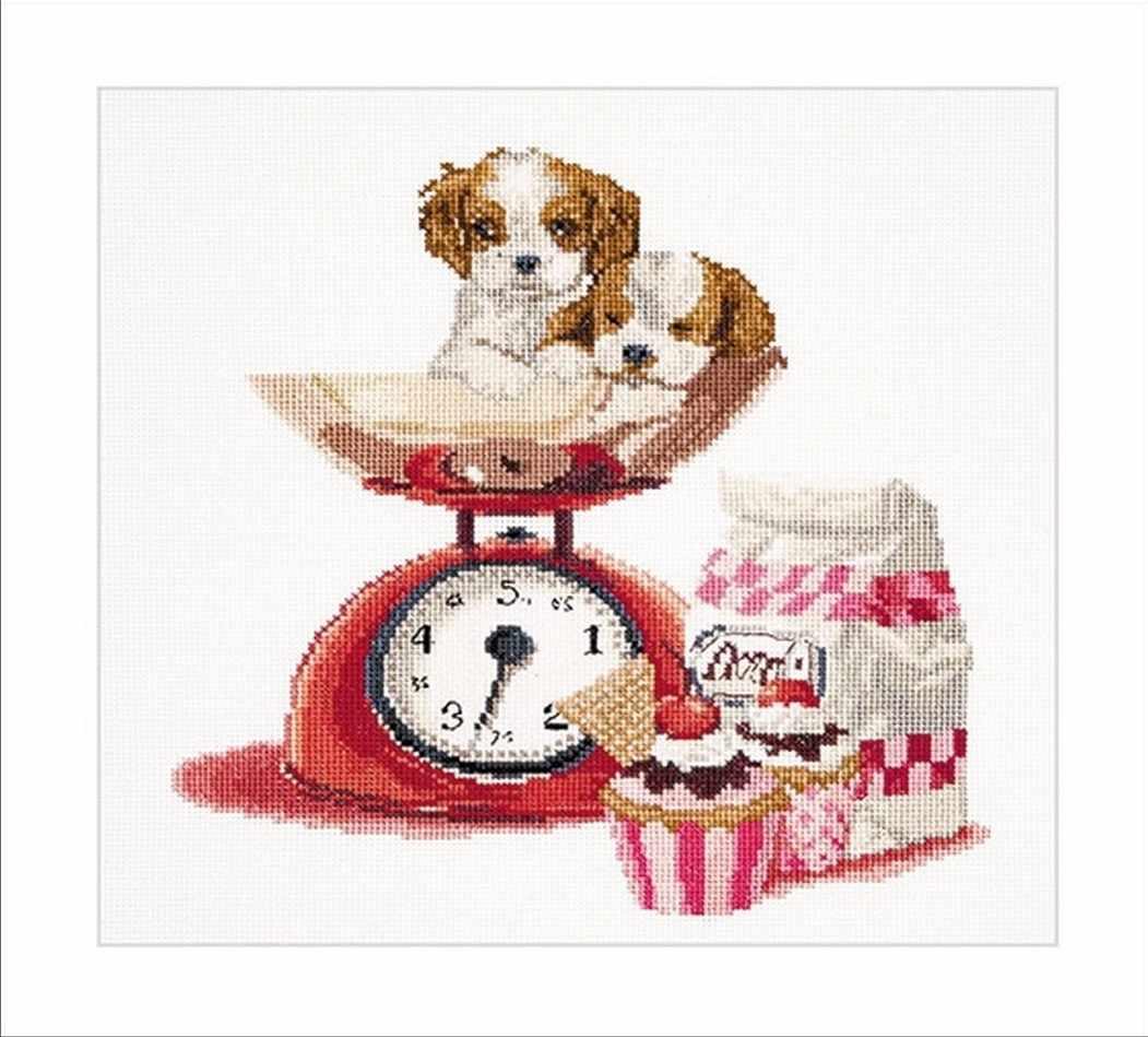 0741A Кекс и щенки