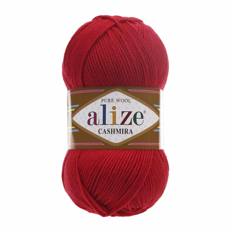 Пряжа Alize Cashmira Цвет.56 Красный