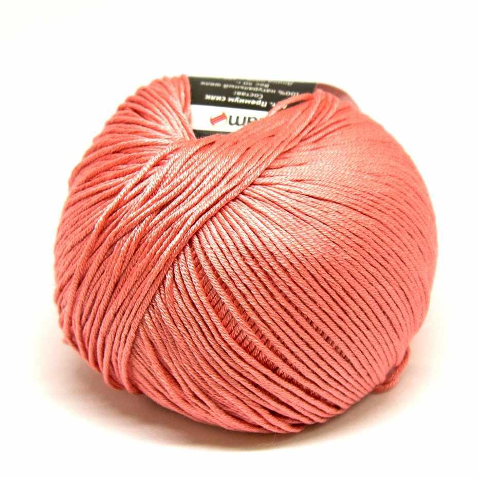 Пряжа Seam Premium Silk Цвет.12 розовые румяна
