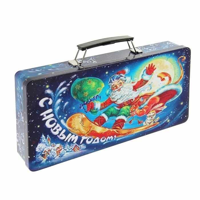 """1627214 Подарочная коробка """"Вираж"""", саквояж"""