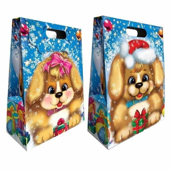 """2734022 Подарочная коробка с масками """"Щенок"""""""