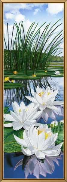 Бис 1308 Белые лилии