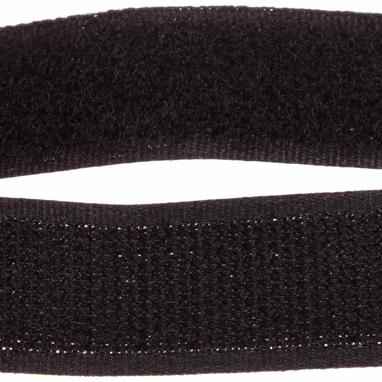 Липучка 20 мм черный