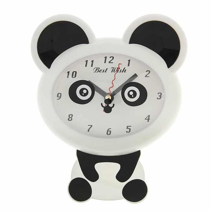 """1716976 Часы настенные детские """"Панда"""""""