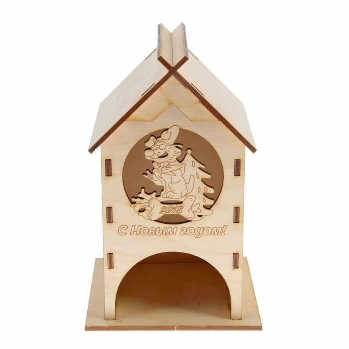 2714964 Чайный домик «Крутой Барбос», заготовка для творчества