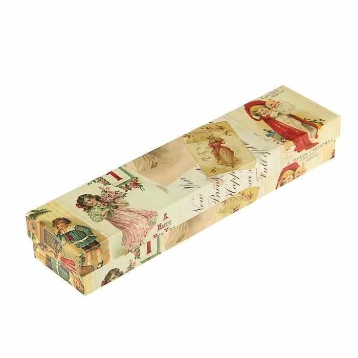 """2928608 Коробка подарочная """"Новогодние открытки"""""""