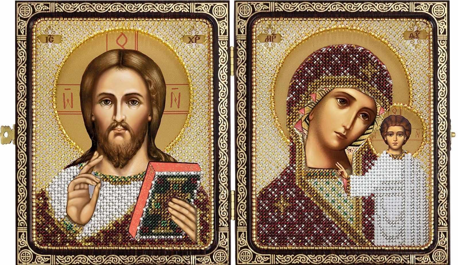 СЕ 7200 Христос Спаситель и Пресв.Богородица Казанская