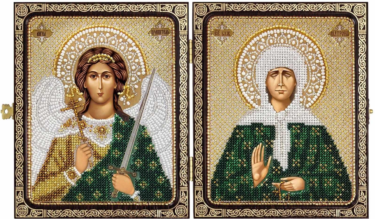 СЕ 7202 Св. Прав. старица Матрона Московская и Ангел Хранитель