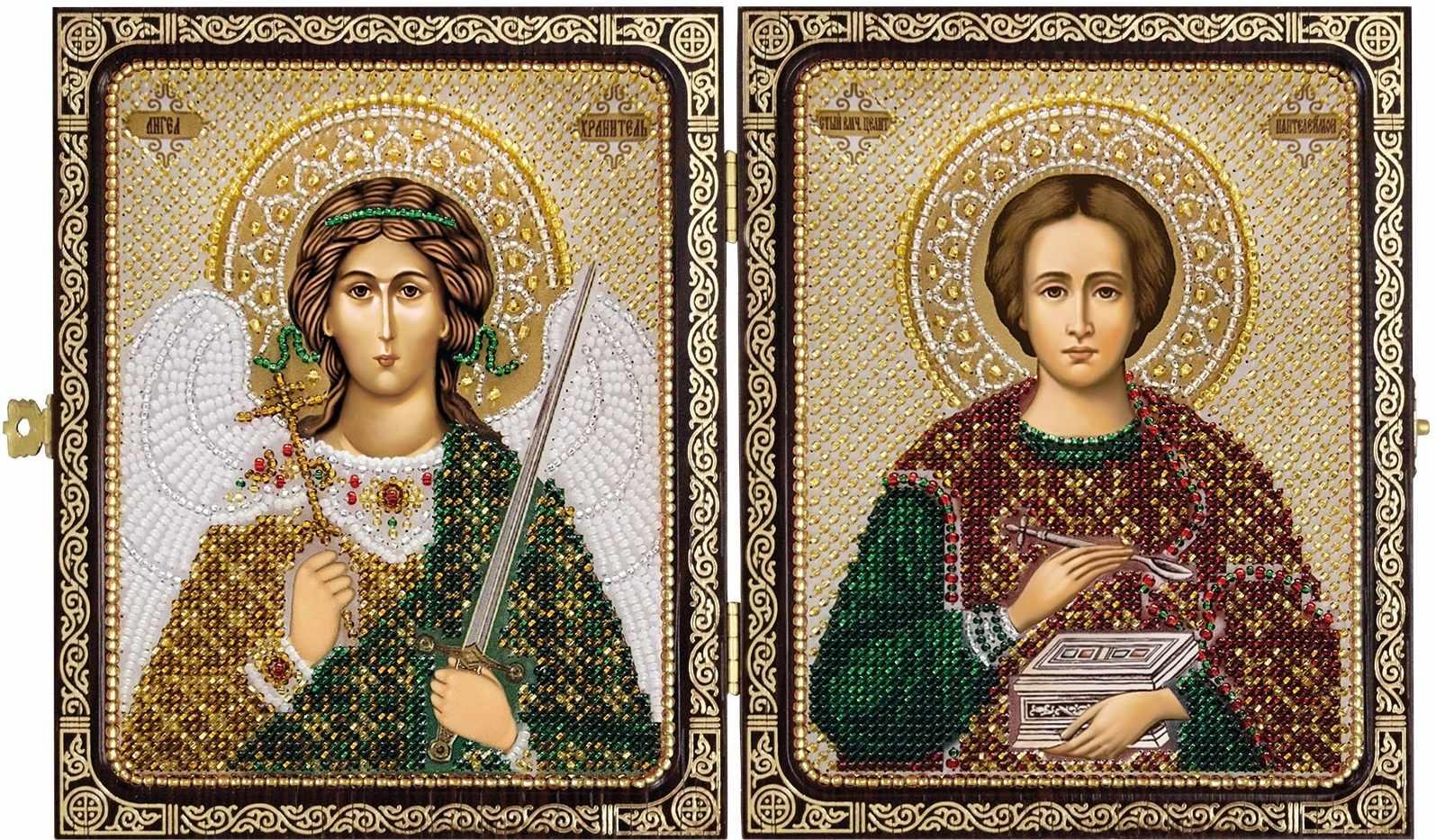 СЕ 7203 Св. Вмч. Целитель Пантелеймон и Ангел Хранитель