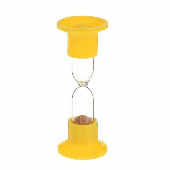 1546051 Часы песочные настольные на 1 минуту