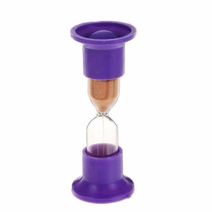 1546054 Часы песочные настольные на 5 минут