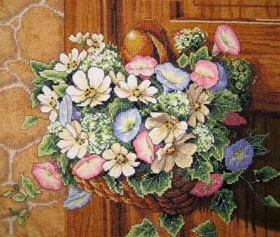13716-DMS Цветы на дверной ручке