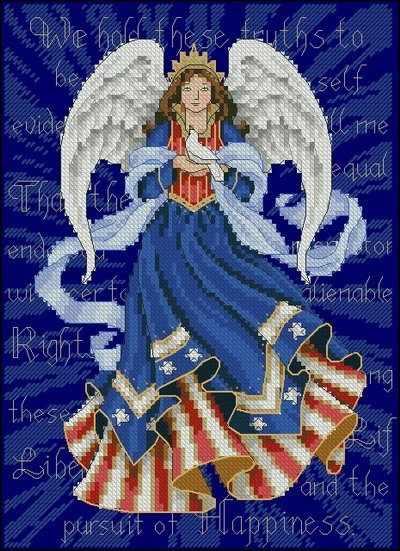 6911-DMS Патриотический ангел