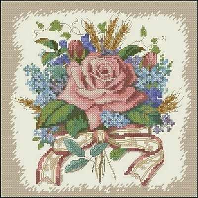6995-DMS Букет из роз