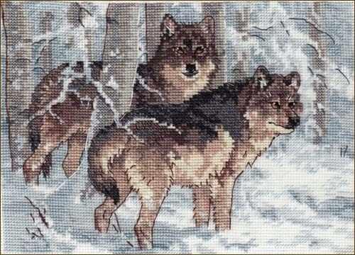 65004-DMS Зимние волки