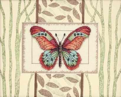 65026-DMS Бабочки и листья