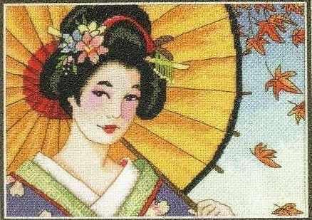 65036-DMS Красота гейши