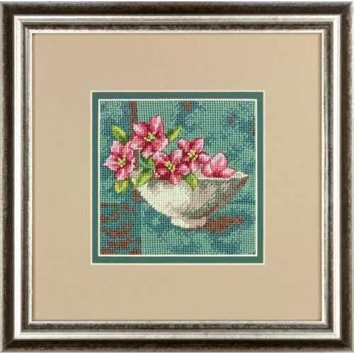 7237-DMS Цветы кизила