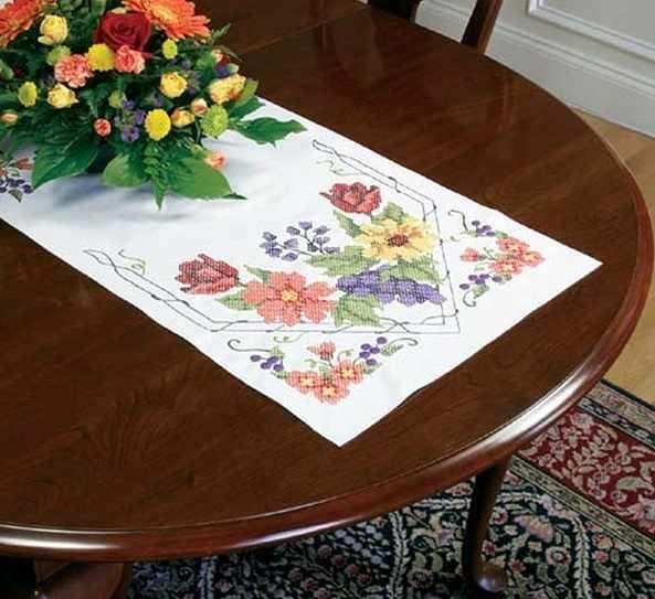 73216-DMS Декор. Салфетка цветы