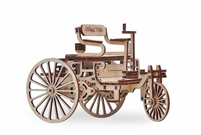 1234-07 Первый автомобиль