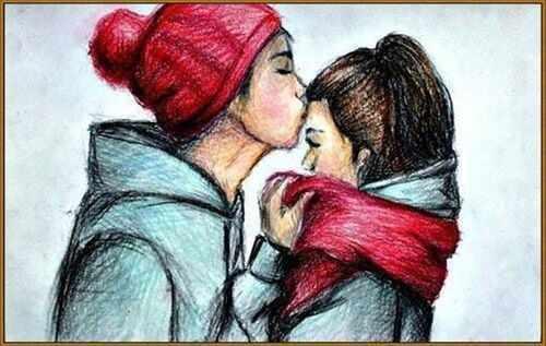 N-324 Первый поцелуй - мозаика Милато
