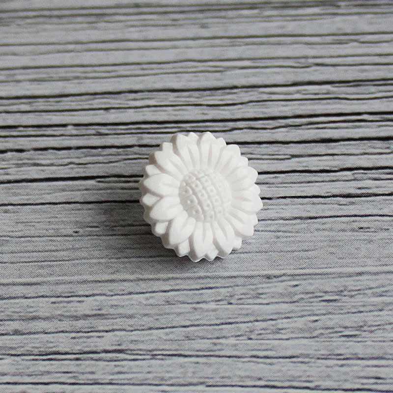 AY 10008 20 Пуговицы детские №D501 белый, 6 шт