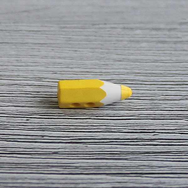 AY 9917 24 Пуговицы детские №D504 желтый, 6 шт
