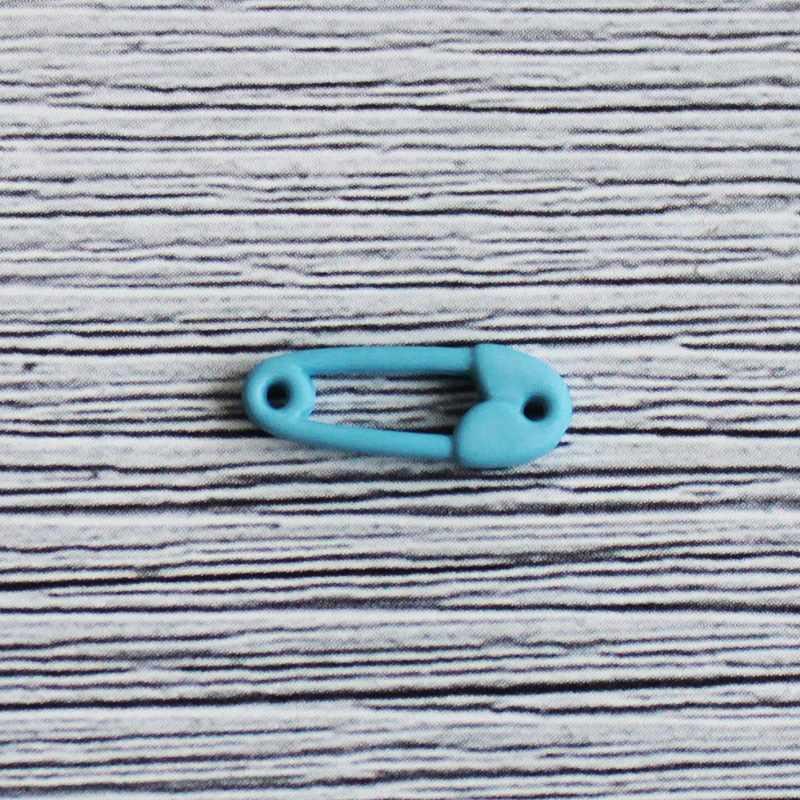 AY 9930 24 Пуговицы детские №D833 голубой, 6 шт