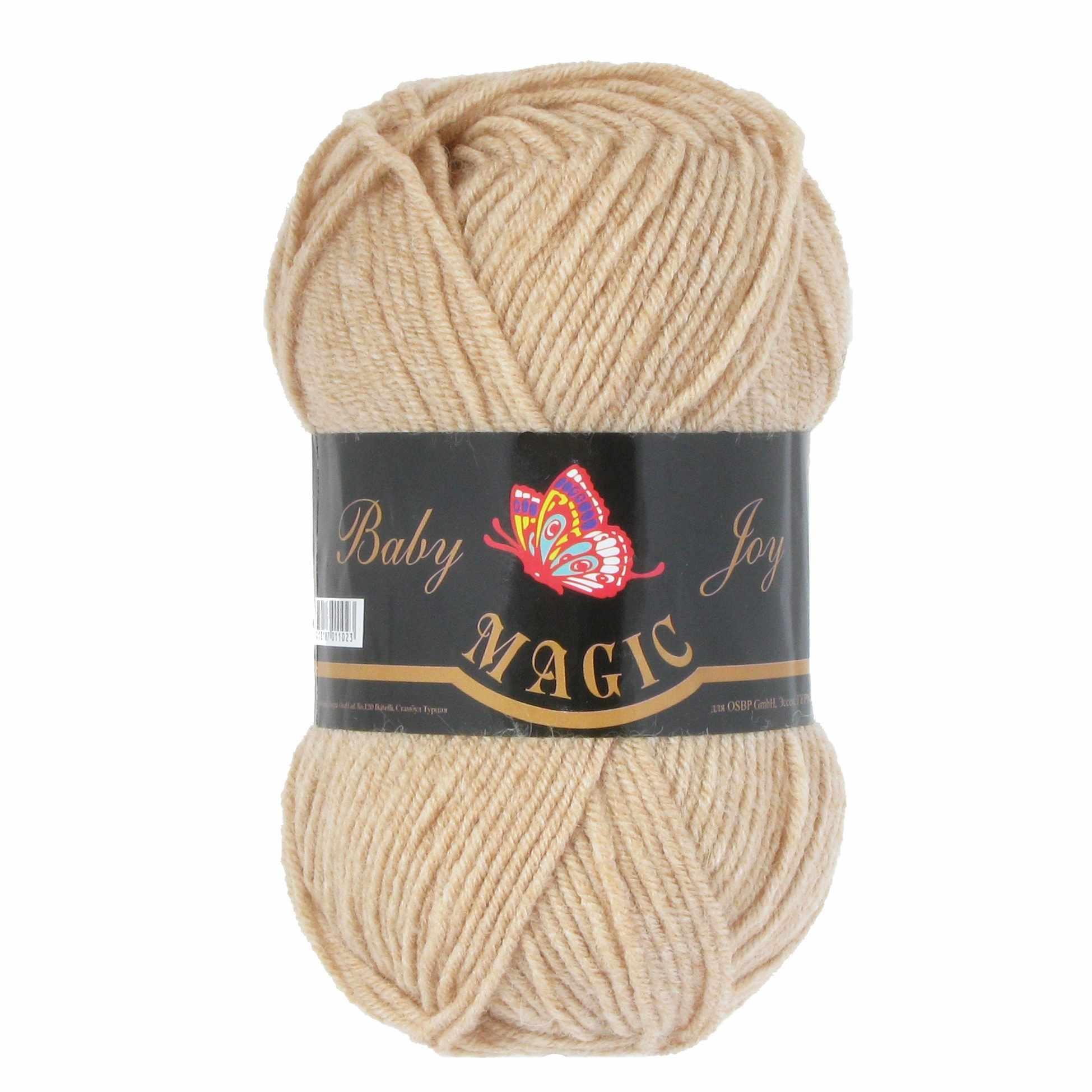 Пряжа Magic Baby Joy Цвет.5704 Топленое молоко