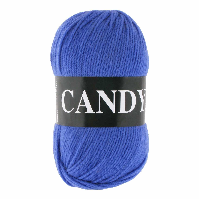 Пряжа VITA Candy Цвет.2528 Ярко-синий