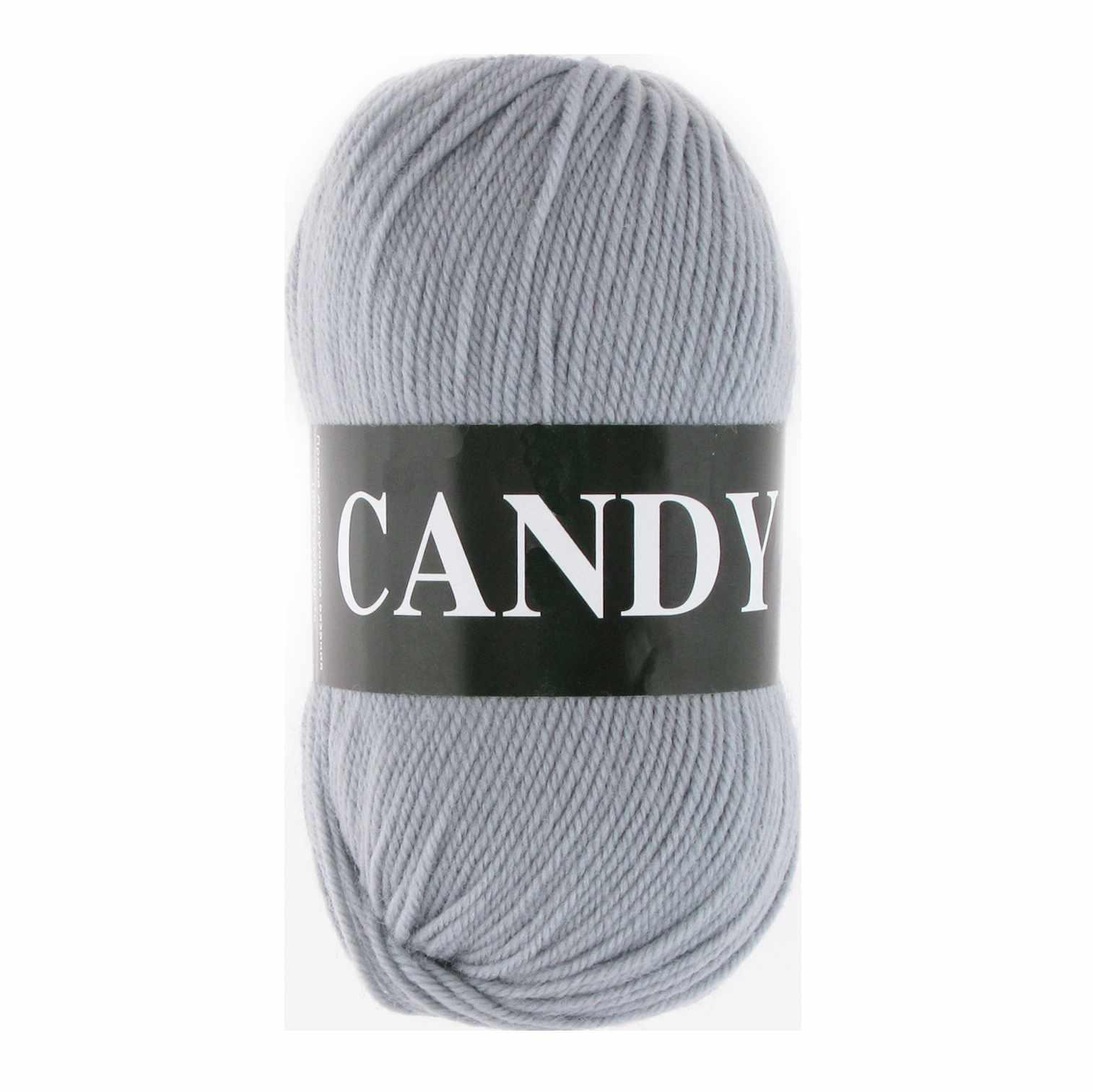 Пряжа VITA Candy Цвет.2531 Серебро