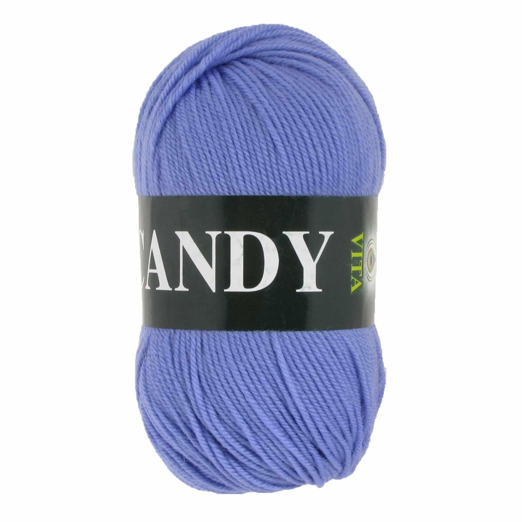 Пряжа VITA Candy Цвет.2540 Голубой