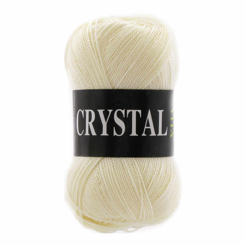 Пряжа VITA Crystal Цвет.5653 Экрю
