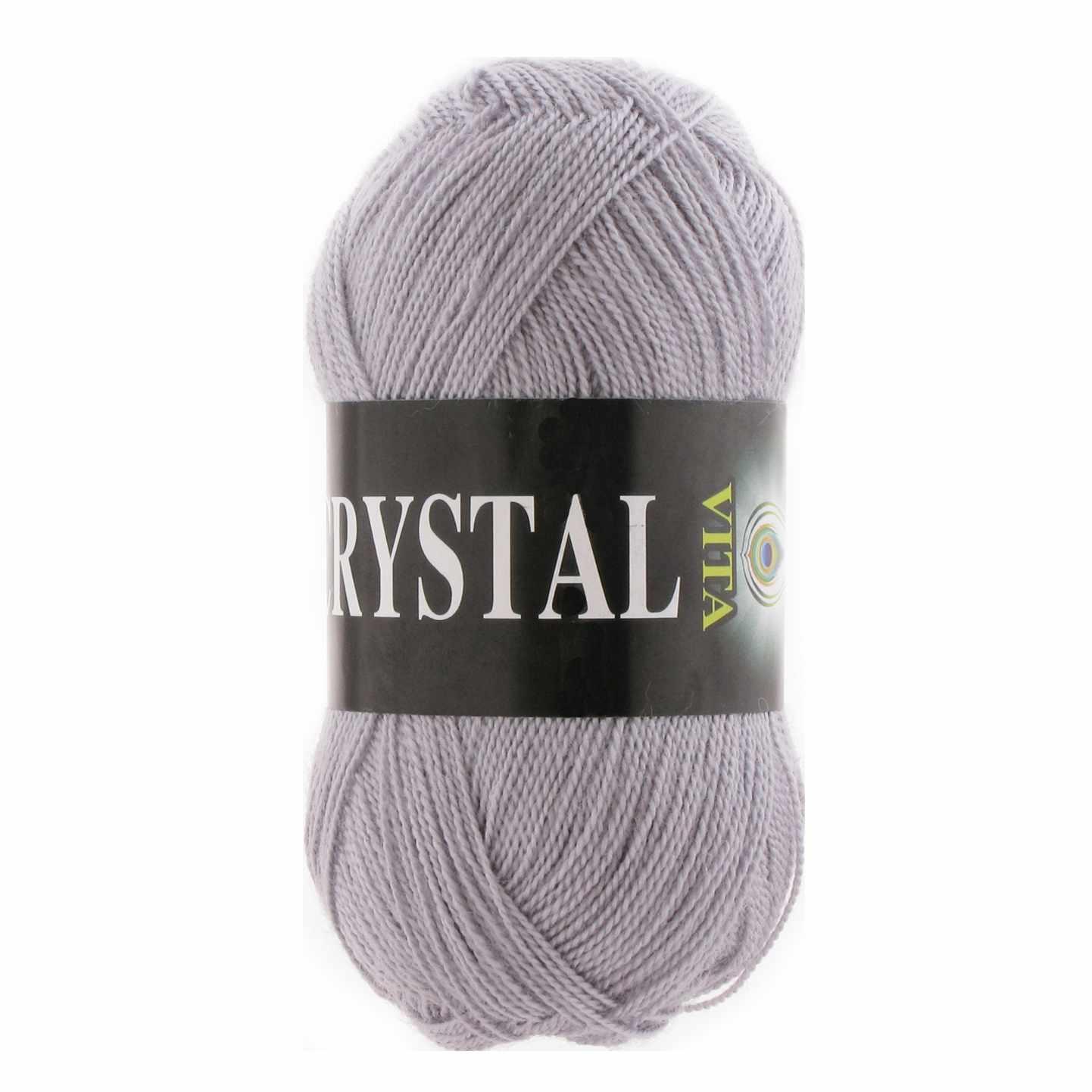 Пряжа VITA Crystal Цвет.5662 Серебро