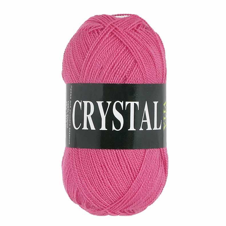 Пряжа  Crystal Цвет.5671 Розовый коралл
