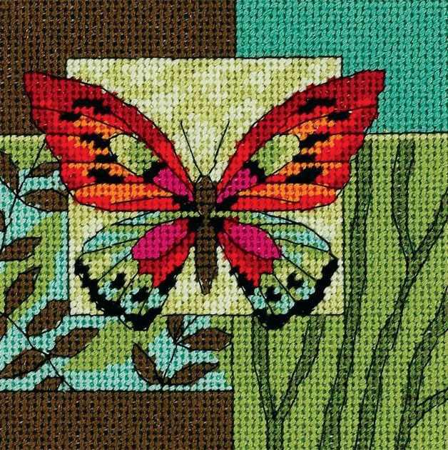 7222-DMS Образ бабочки