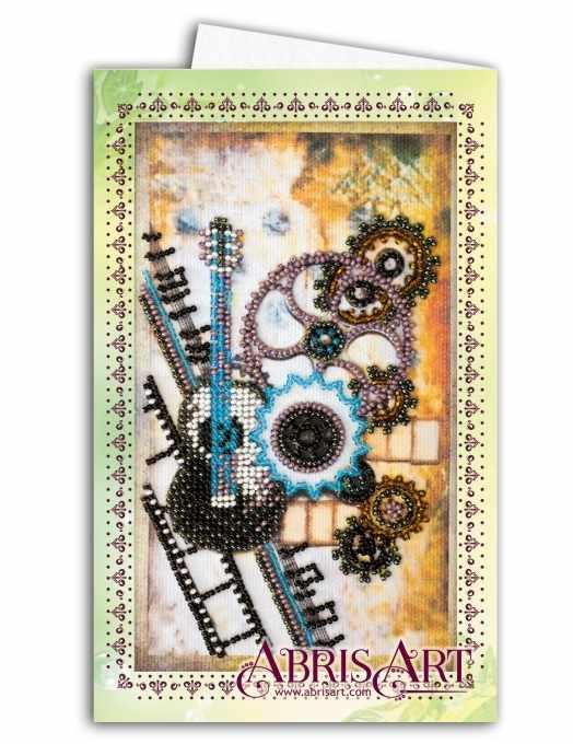 """АОМ-014 """"Гитара"""" - Открытка-конверт"""