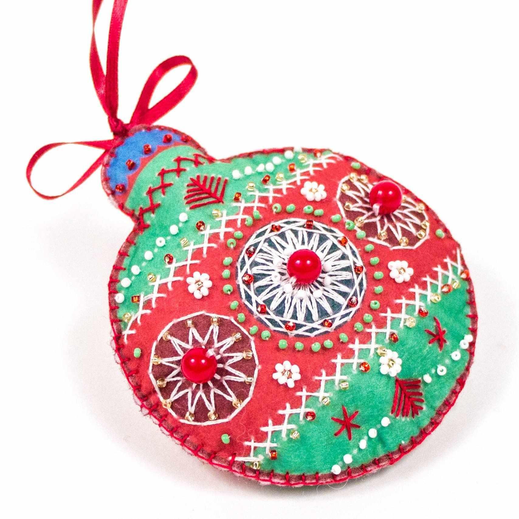 8464 Красный шарик - набор для вышивания