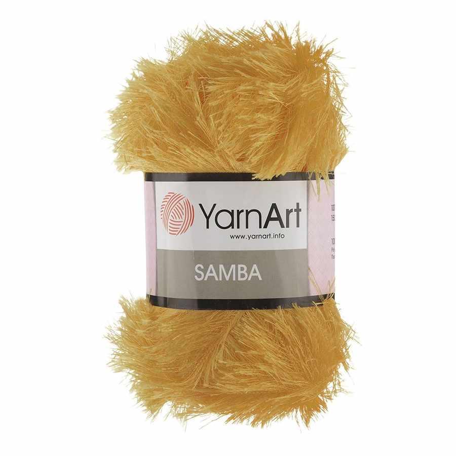 Пряжа YarnArt Samba Цвет.2004 Золотой