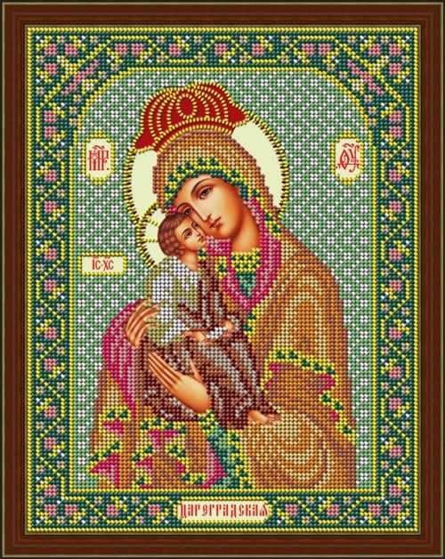 """И 064 Икона Божией Матери """"Цареградская"""" - набор (Galla Collection)"""