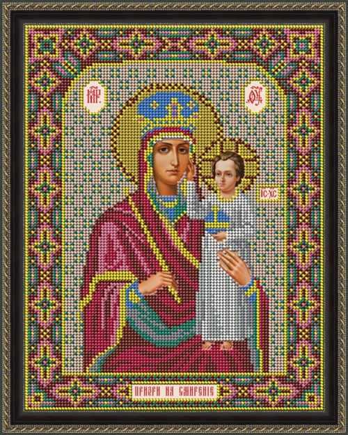 """И 065 Икона Божией Матери """"Призри на смирение"""" - набор (Galla Collection)"""