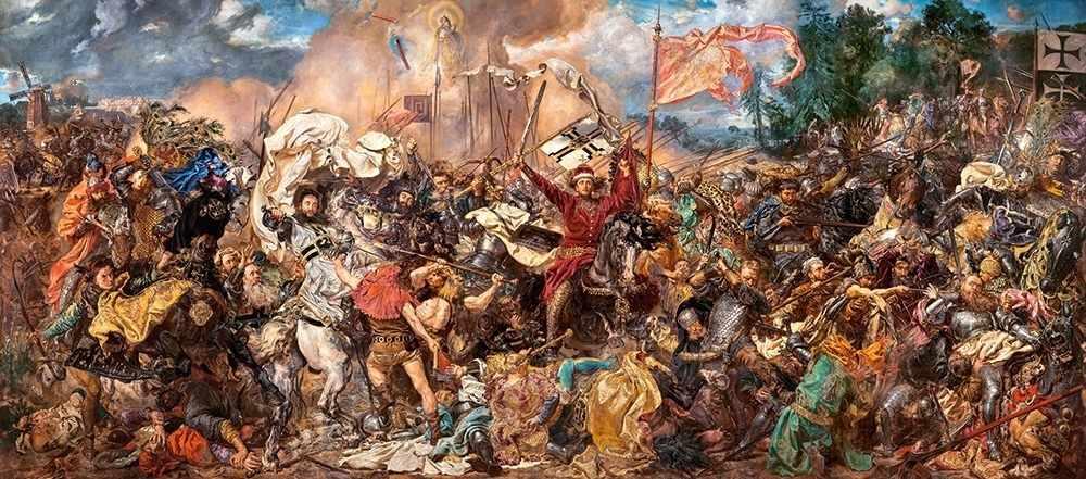В-060382 Битва при Грюнвальде, 600 деталей