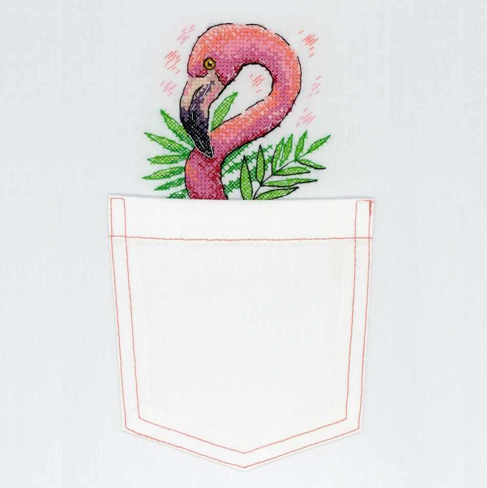 В-248 Розовый фламинго (МП Студия)