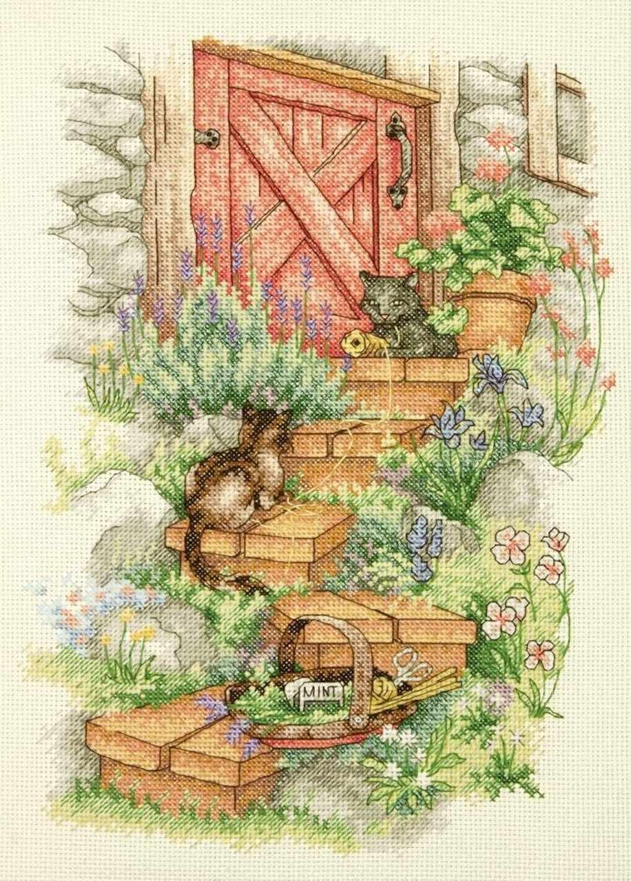 35362-DMS Шаги в саду
