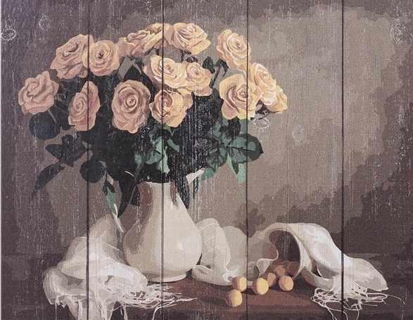 WS032 Желтые розы