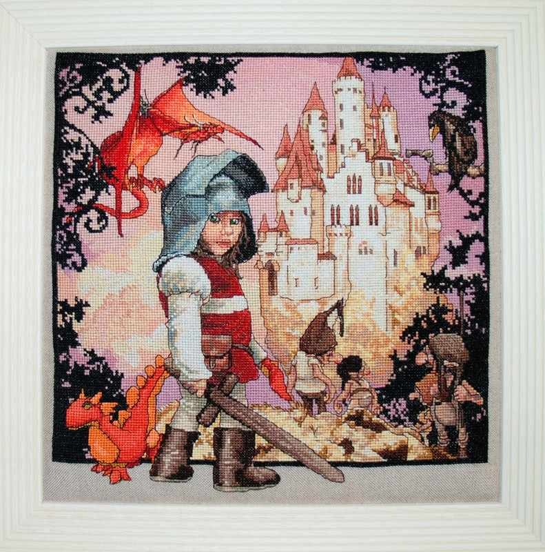 120-B001 K Маленький рыцарь