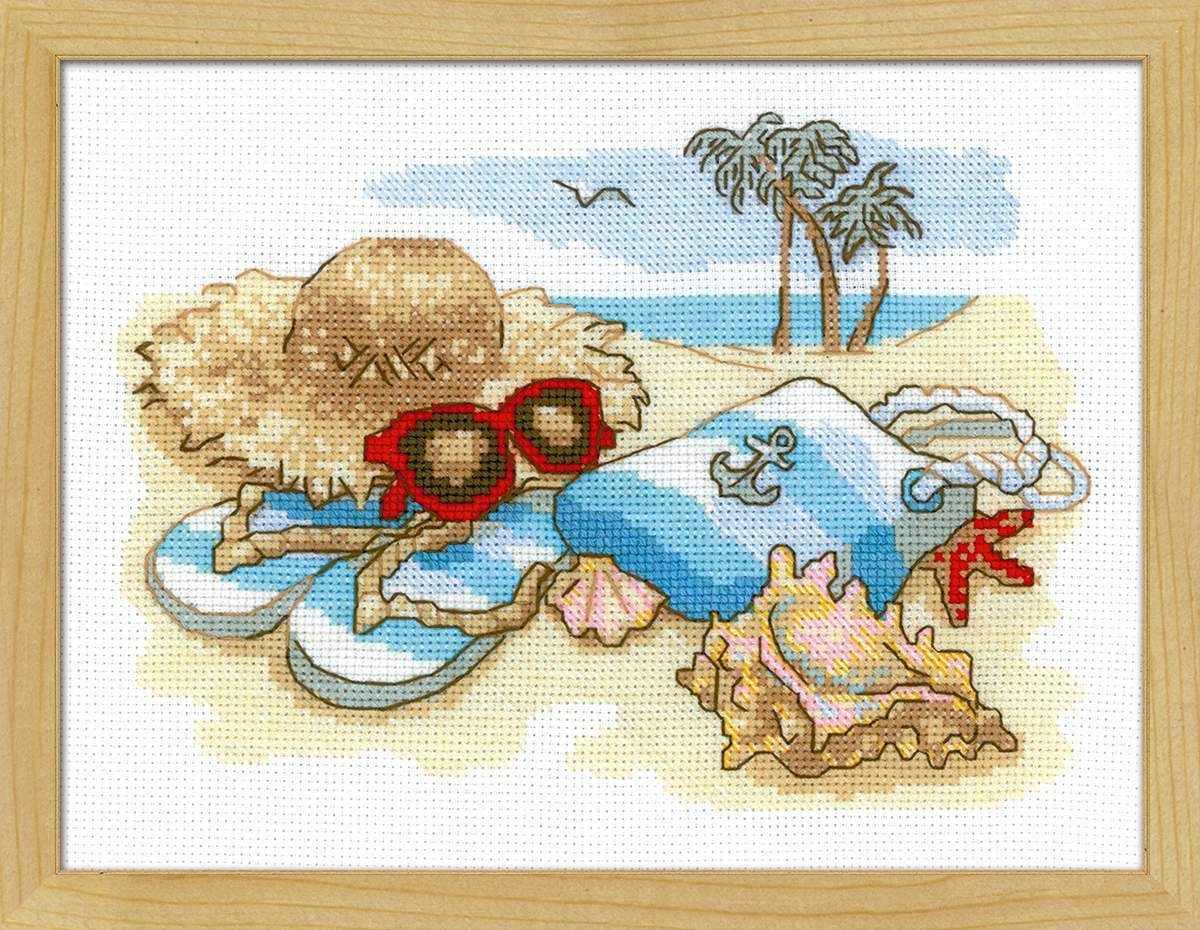 b0a74500ad96 Набор для вышивания «Риолис» Частичная вышивка «Риолис» 1719 «Отдых ...