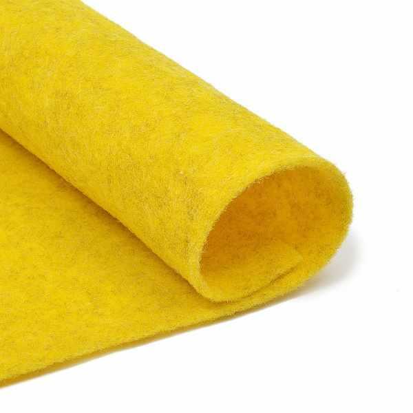 ИТ.Ш.034 Фетр шерсть 2,5мм 30х50см цв. 034/1425 желтый