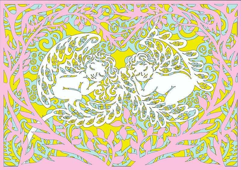 130426 Базовый набор Спящие ангелочки (многослойные)