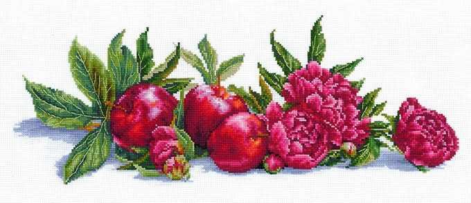 Я-02 Яблоки и пионы